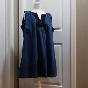 Reborn Denim sleeveless dress